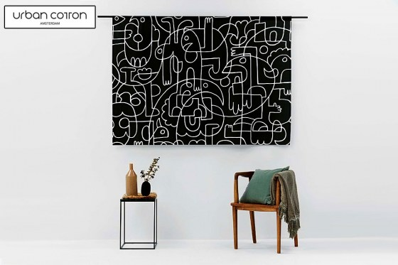 urban-cotton-wandkleed-doodles-sfeer