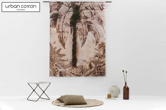 urban-cotton-wandkleed-urban-jungle-sfeer